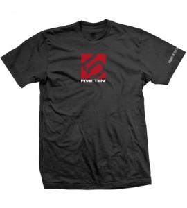 Camisa Box 3 Line Tee Black Five Ten