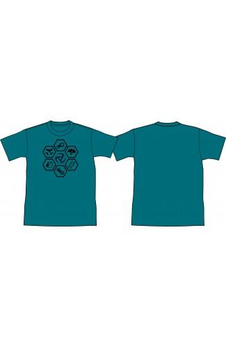 Camiseta Hexágonos Equinox